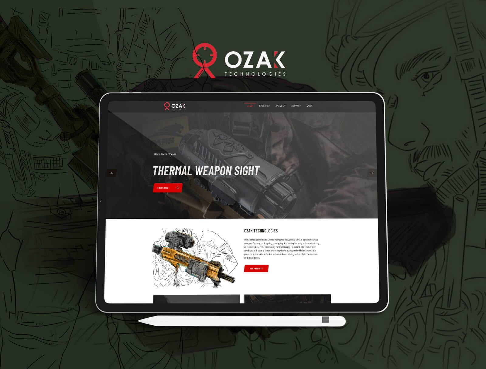 OZAK Technologies - Web Designed by The Inventiv Hub