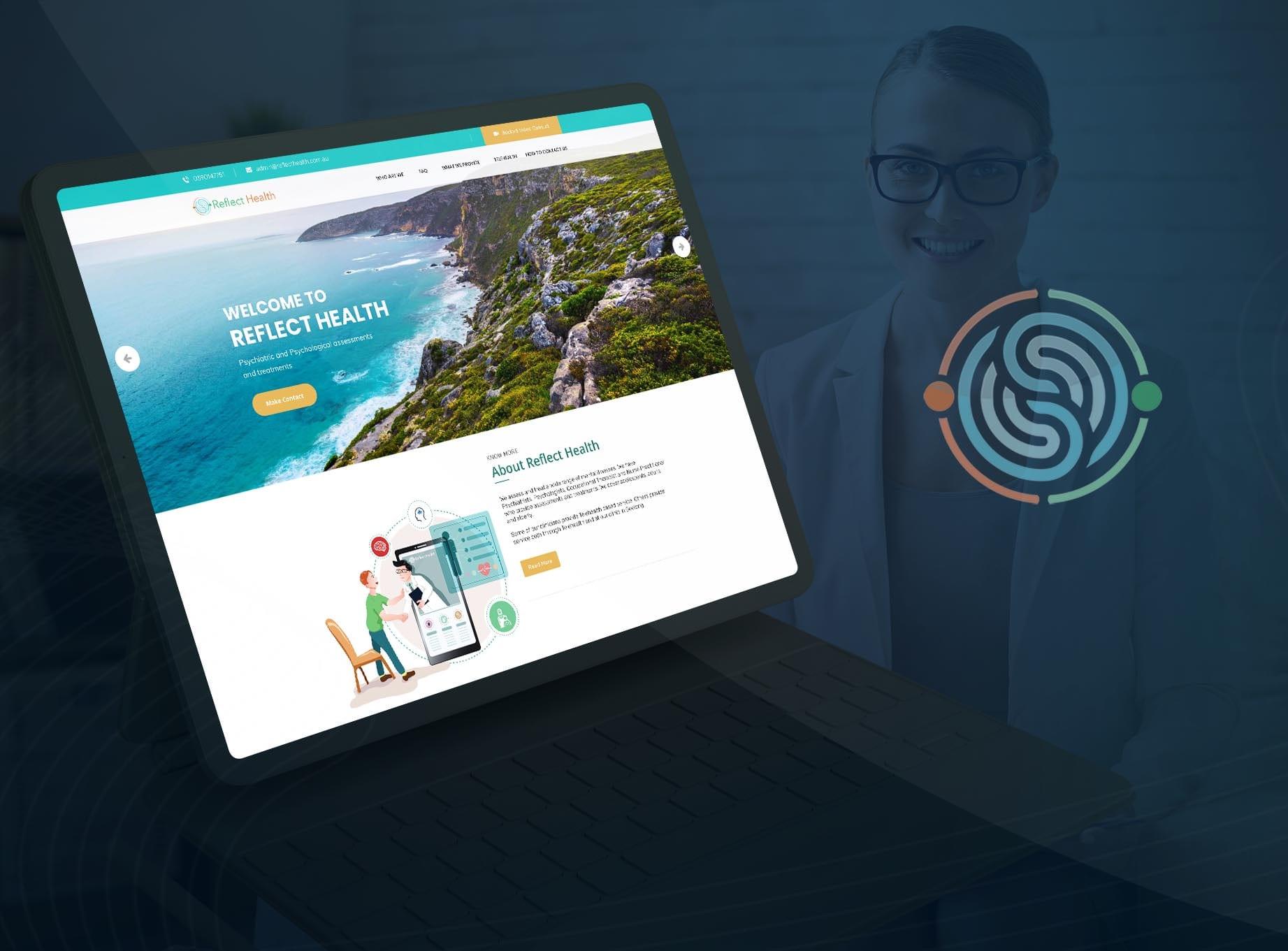 Reflect Health Australia - Web Design and Development by The Inventiv Hub