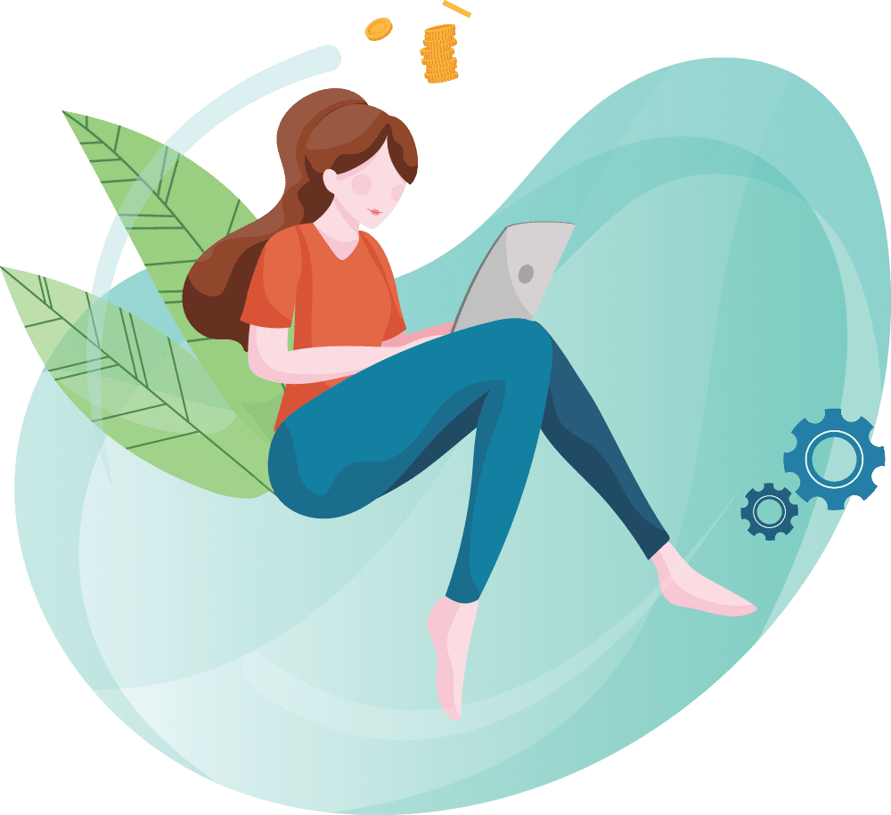 Illustration of Web Development Service | The Inventiv Hub