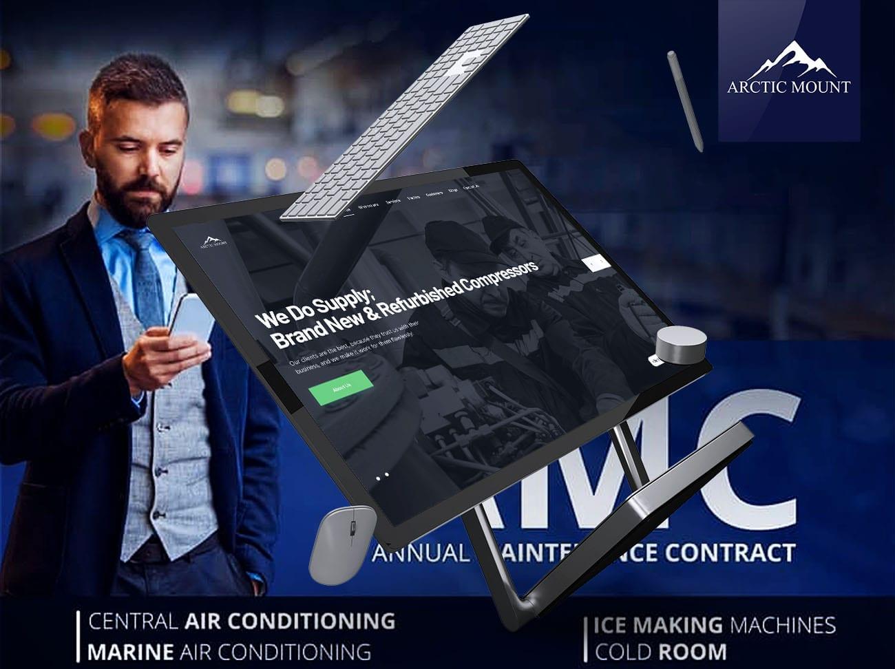 Arctic Mount - Dubai - Web Design and Digital Marketing by The Inventiv Hub