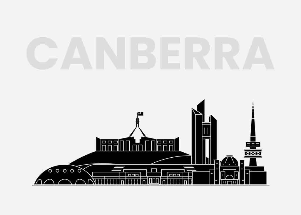 Throbbing Life in Canberra, Australia